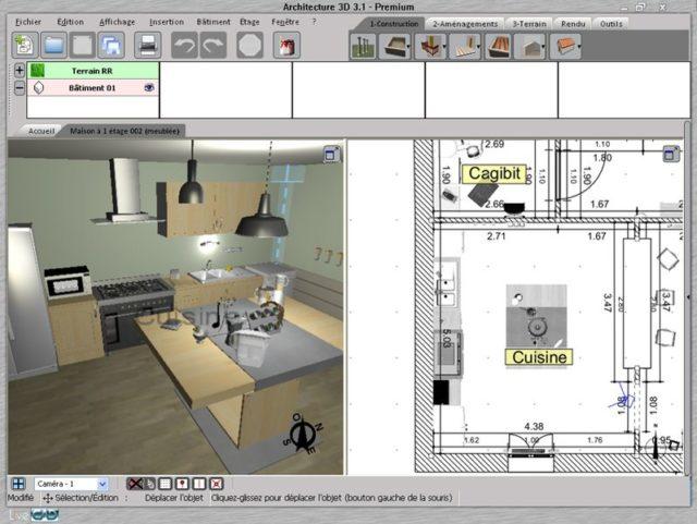 3D architektura - 3D pohled