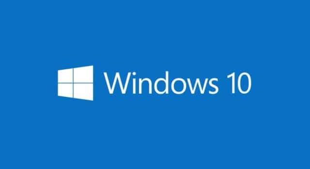 Windows 10 základní software