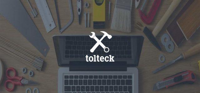 Tolteck, nástroj pro stavební řemeslníky vyrobený stavebními řemeslníky