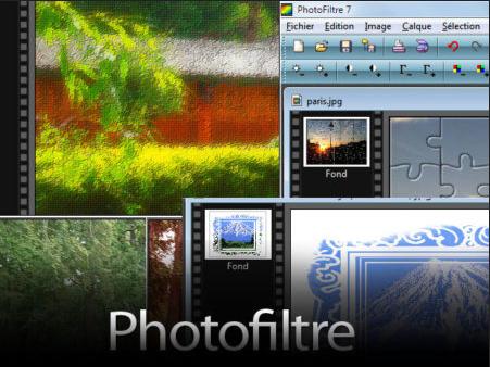 Jednoduchý a uspořádaný, Photofiltre je vhodný pro začátečníky