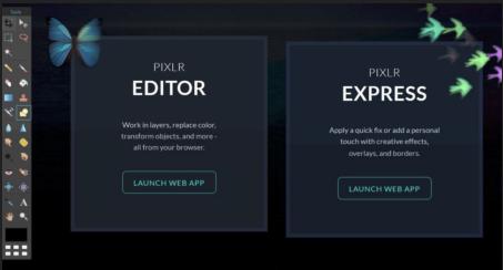 Funkce Pixlr Editoru a Pixlr Express je komplexní a činí z něj výkonný software pro úpravu fotografií