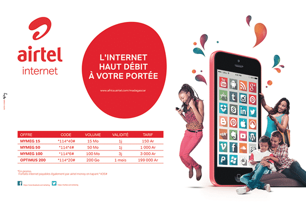 Offre Internet AIrtel