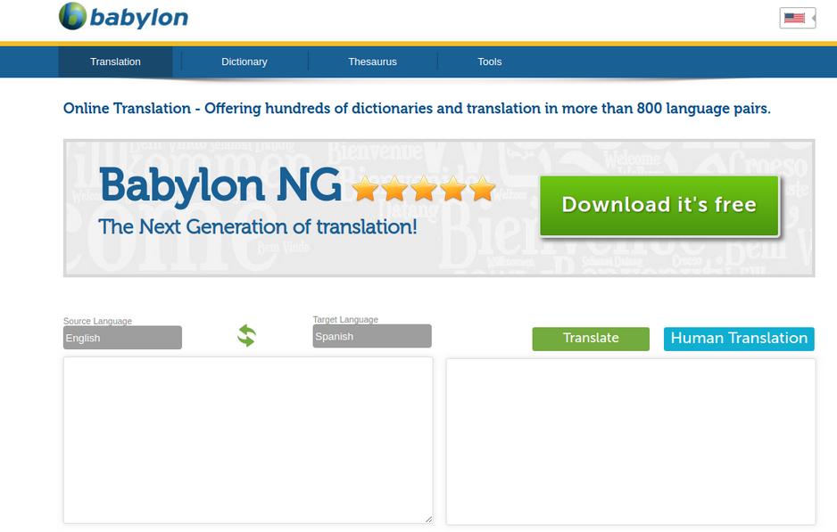 Mnoho zákazníků je spokojeno s bezplatným překladovým softwarem společnosti Babylon