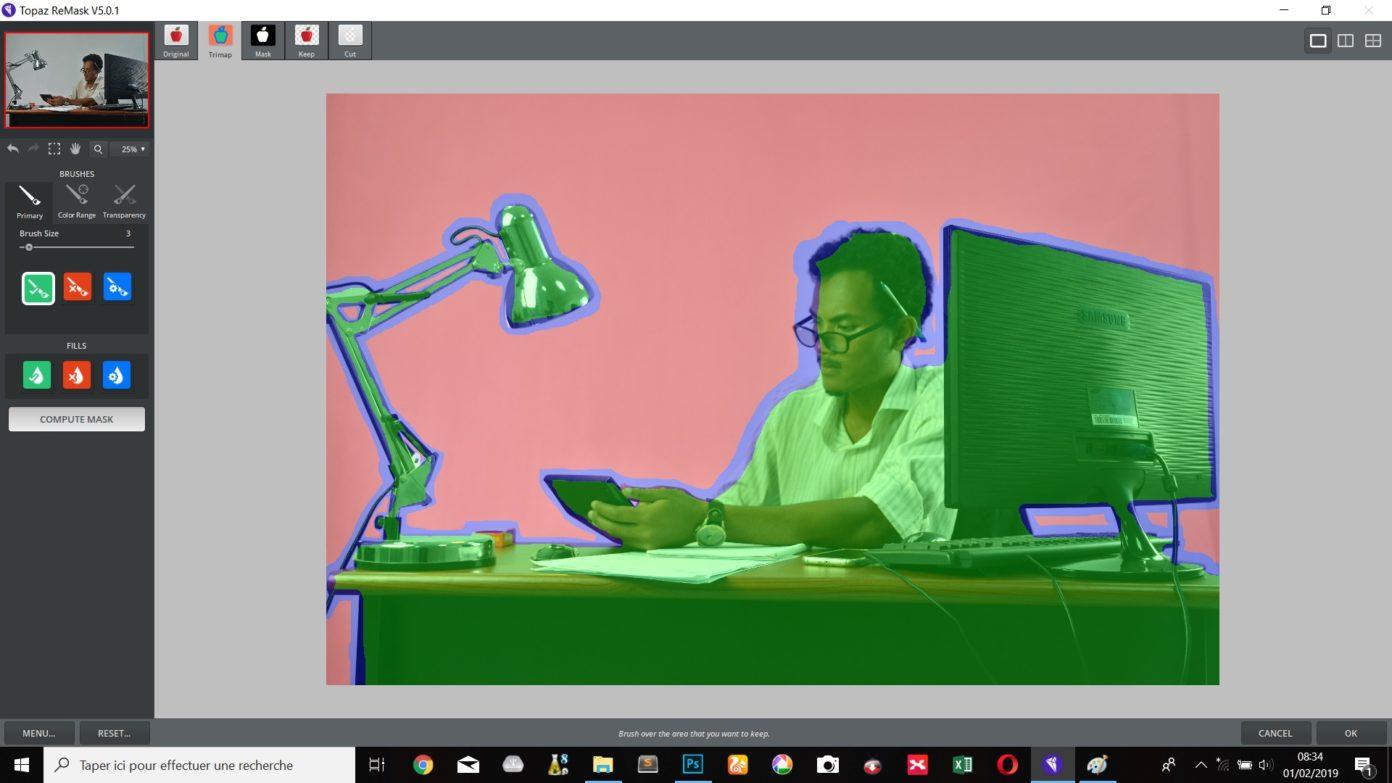 Izolujeme muže, kancelář a veškeré vybavení
