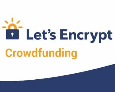 Podporujte organizaci bezplatného zabezpečení všech webových stránek