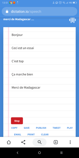 Rozpoznávání řeči na Dictation.oi je dostupné na smartphonu