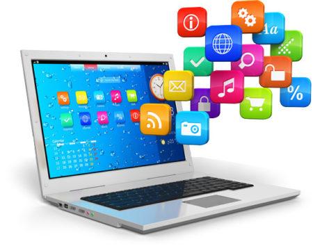 U tohoto prvního rozdílu mezi softwarem a aplikacemi řekněme, že software je středem funkčního nástroje počítače