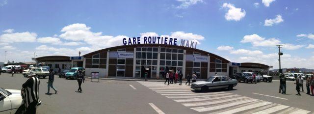 Autobusové nádraží v Andohotapenaka (Zdroj: FB Gare Routière Andohotapenaka)