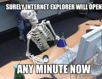 Pomalý Internet Explorer