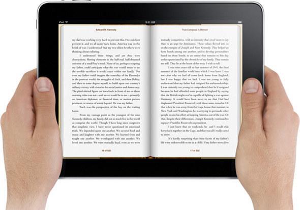 Elektronické knihy jsou praktičtější
