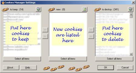 Cookies Manager es un software anti-cookies completamente gratuito.