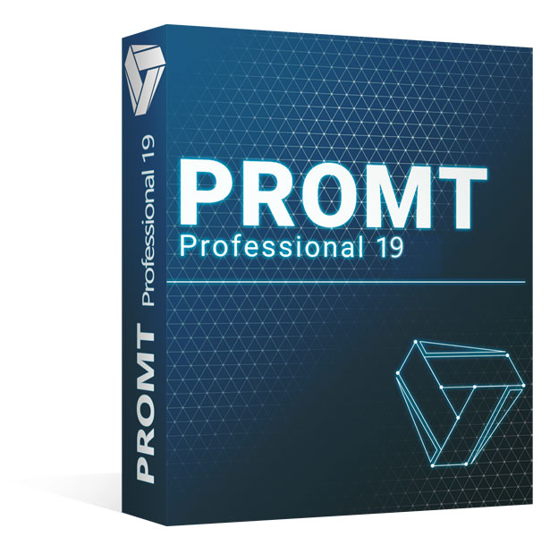 Vyzkoušejte Promt Professional 19 pro své profesionální projekty