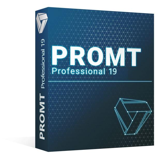 Pruebe Promt Professional 19 para sus proyectos profesionales