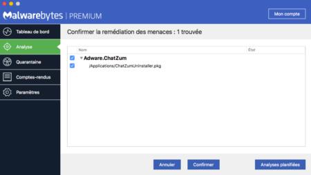 Malwarebytes, známý svou spolehlivostí klasifikace každého souboru podle jeho použití