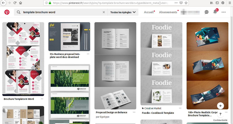 Hledáte příklad brožury prodeje Wordu? Nechte se inspirovat tisíci návrhů na Pinterestu