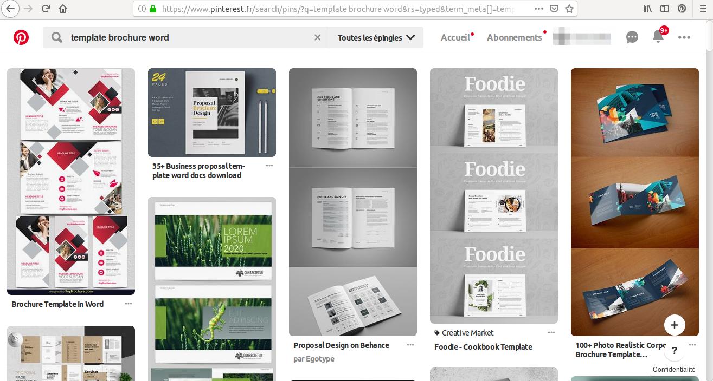 ¿Busca un folleto de ventas de Word de muestra? Inspírese en las miles de plantillas de Pinterest