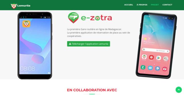 La plataforma de E-zotra
