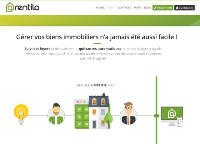 Rentila tiene un sitio web muy bonito