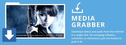 Torch Media Grabber, funkce stahování souborů pro streamování