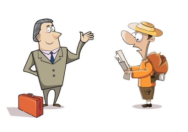 Los Malgaches van al extranjero tanto por turismo como por negocios.