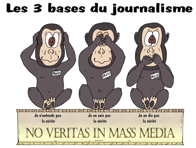 Los medios de comunicación, cuando nos sostienen:')