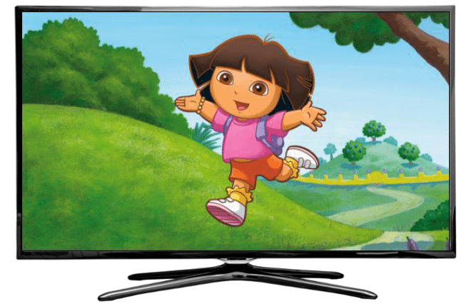 «La televisión es número uno. Ay, caramba! «