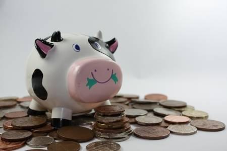 Sólo el 45% de los clientes del banco tienen una cuenta de ahorros.