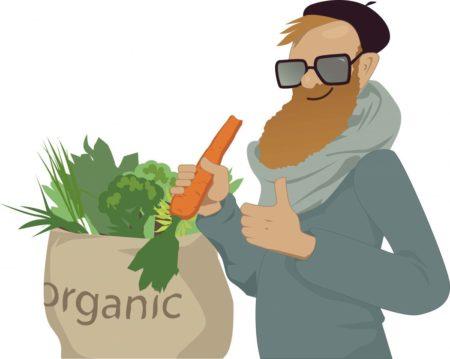 Comer productos orgánicos es muy bueno para la salud