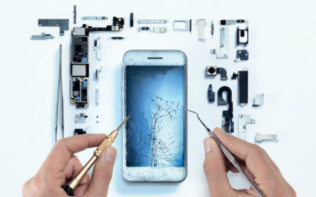 A minority of respondents manage to repair their phones themselves