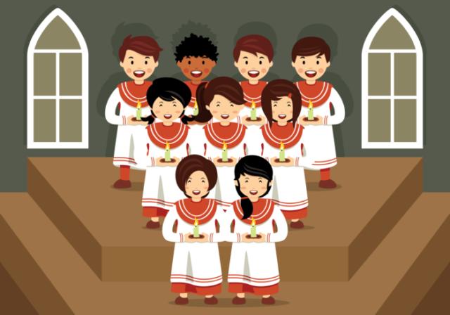 Los conciertos de gospel son populares