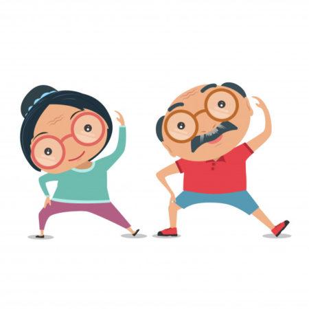 Estar en buena condición física significa estar en plena forma cuando se hace el esfuerzo.