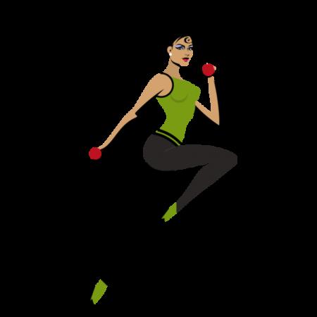 La actividad física regular contribuye a una buena condición física.