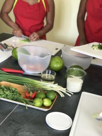 A muchos tananarivianos les gusta cocinar en casa