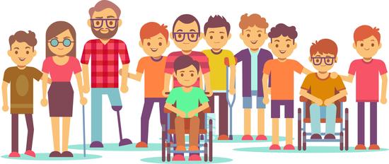 Los tananarivianos consideran a los discapacitados como todas las demás personas