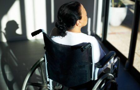 La segregación de una persona discapacitada: los tananarivianos son segregados