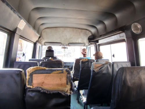 Bienvenido a un autobús malgache...