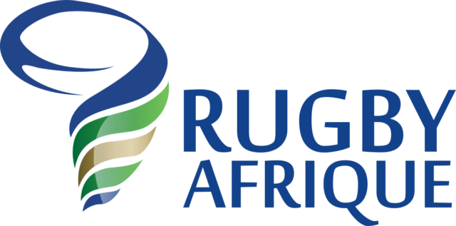 The logo (2018) of Rugby Africa, formerly Confederation of African Rugby