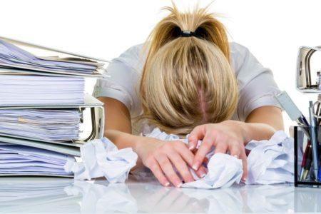 Mucha gente está cansada después del trabajo