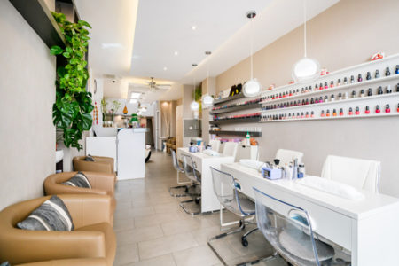 Most Tananarivians only go to nail salons on special occasions.