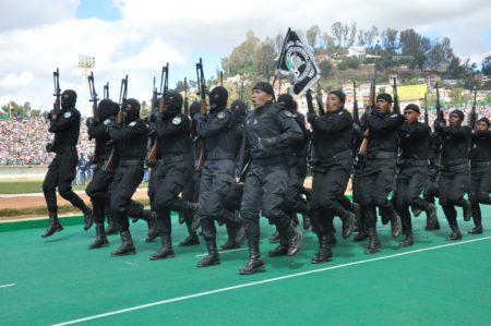 El desfile no es muy apreciado por los ciudadanos para la celebración del Día de la Independencia en Madagascar