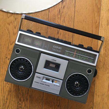 El reproductor de cassettes no es una novedad, en Madagascar sigue siendo una forma de escuchar música
