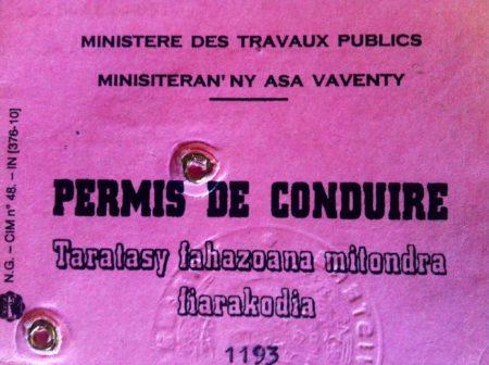 ¿Hay más coches que personas con permiso de conducir en Madagascar?
