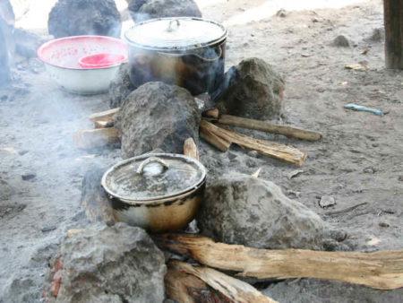 Respirační infekce způsobené palivovým dřevem jsou dobrým příkladem vlivu znečištění na zdraví