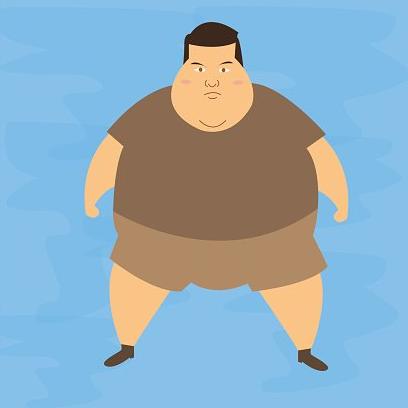 """Bylo by tlustého muže víc """"normální"""" než tlustou ženu?"""