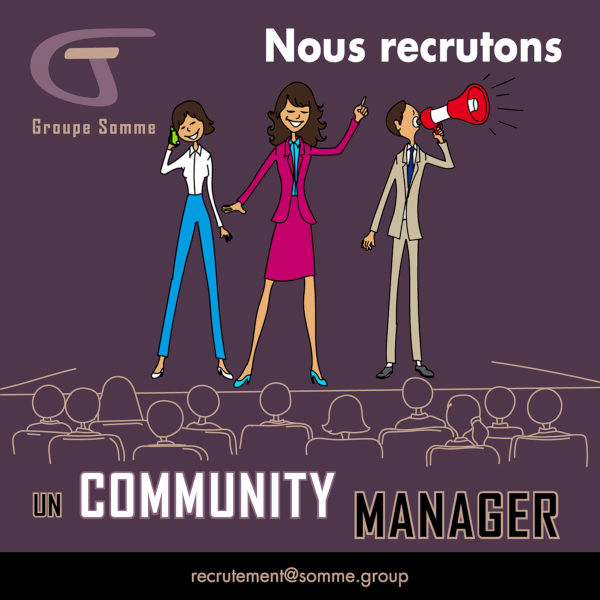 Recrutement Community Manager Freelance