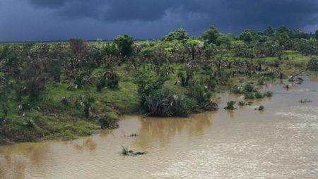 V této snaze o udržitelný rozvoj na Madagaskaru jsou výzvy v oblasti klimatu obrovské